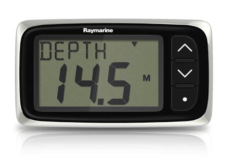 Raymarine i40 Depth System (Display & Through-Hull Transducer)-0