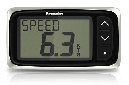 Raymarine i40 Speed System (Display & Through-Hull Transducer)-0