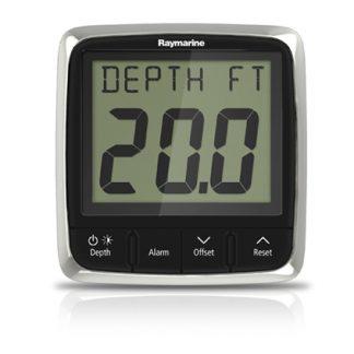 Raymarine i50 Depth System (Display & Through-Hull Transducer)-0