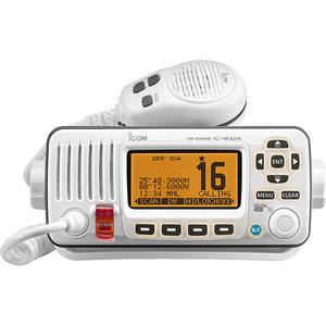 Icom M324 VHF Marine Transceiver - Super White-0