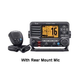 Icom 506 41 Class D DSC Marine VHF Radio with Rear mic, NMEA2000 and AIS Receiver-0