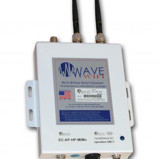 Wave WiFi EC-AP-HP High Power Ethernet Converter/Bridge with Local AP-0