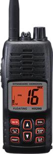 Standard Horizon HX290 Floating Handheld VHF-0