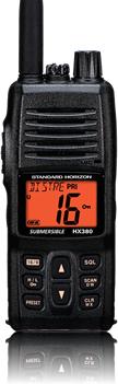 Standard Horizon HX380 Handheld VHF Transceiver-0