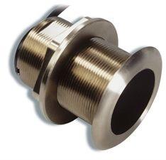Raymarine Bronze Through-Hull 50/200 KHZ Depth/Temperature Transducer with 12 degree tilt (B60)-0
