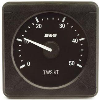 B & G H500 Analog True Wind Speed 0-50 knots-0