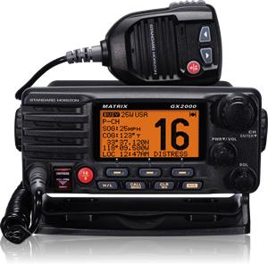 Standard Horizon GX2000 Matrix Fixed Mount VHF-0