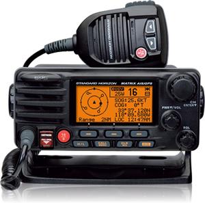 Standard Horizon GX2200 Matrix AIS+ Fixed Mount VHF/AIS/GPS-0