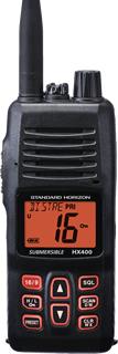 Standard Horizon HX400 Handheld VHF Transceiver-0